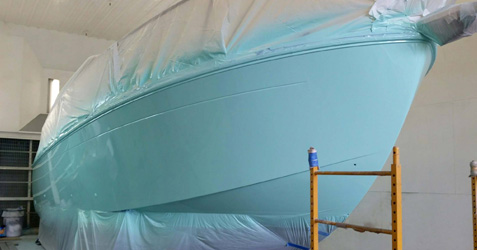 Boat with a Layer of Paint