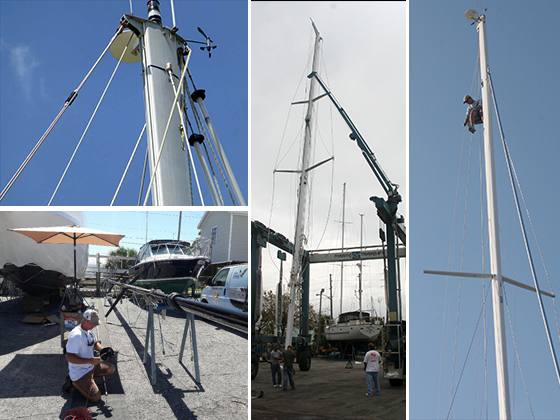 Sail Boats and Rigging Supplies